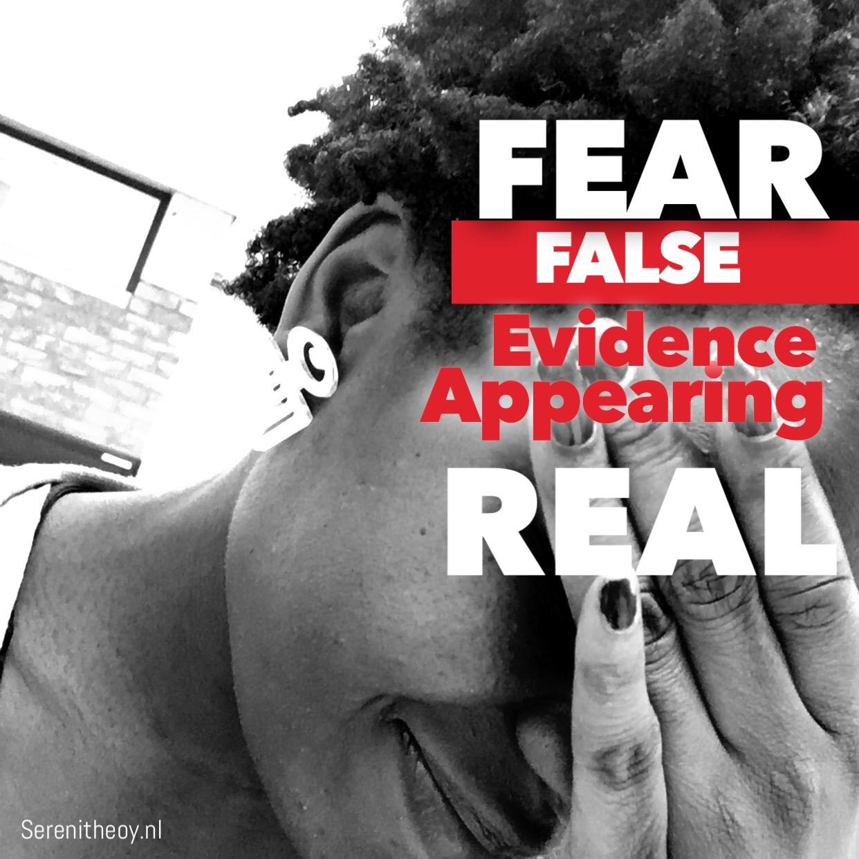 3 dingen waar ik bang voor ben