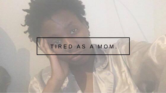 Deze mama is ook maar een mens