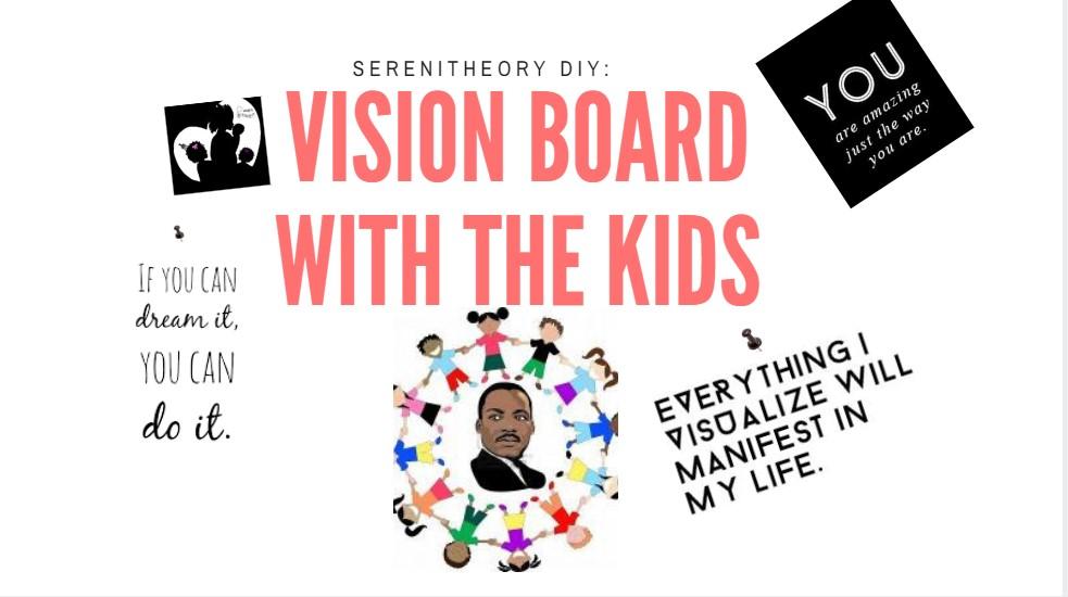 DIY: Vision Board maken met de kids