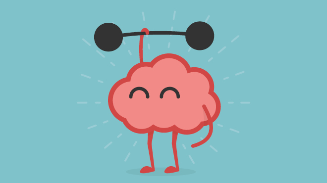 brain-caricature-lifting-weights